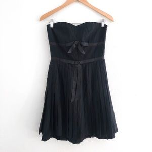 Marc by Marc Jacobs Black Strapless Dress